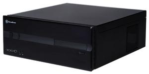 SilverStone LC10-E schwarz ATX, 7 Slots, 1x 5.25