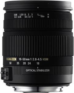 Sigma 18-50/2.8-4.5 DC OS HSM P/AF (item no. 90325604) - Picture #1