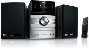 Philips MCM-207 schwarz 20W, Audio-CD/CD-RW/MP3/ WMA, Radio, (Article no. 90333509) - Picture #3