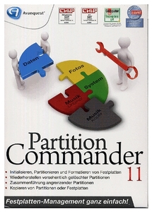 Partition Commander 11 Deutsche Version (Article no. 90335233) - Picture #1