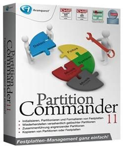 Partition Commander 11 Deutsche Version (Article no. 90335233) - Picture #2