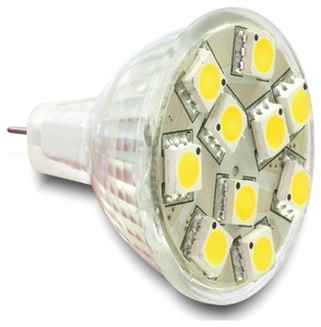 DeLOCK Lighting LED 10x SMD warmweiss Sockel GU4, 2.2 Watt (Article no. 90336095) - Picture #1