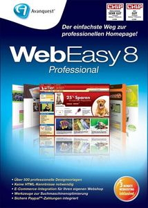 WebEasy 8 Professional (Minibox) (item no. 90339266) - Picture #1