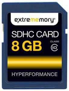 extrememory SDHC Karte 8GB (Article no. 90343842) - Picture #2