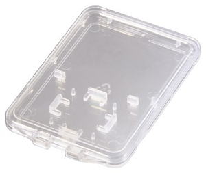Hama SD und microSD Slim Box transparent (Article no. 90346986) - Picture #2