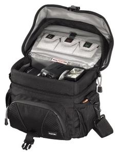 Hama Rexton 130 schwarz für SLR Kameras inkl. Zubehör, Hauptfach (Article no. 90347833) - Picture #2