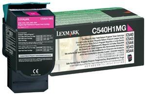 Lexmark C540H1MG Toner Prebate Magenta (Article no. 90348924) - Picture #2