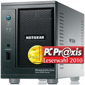 Netgear ReadyNAS Duo ISS Diskles<s Gigabit Desktop Network Storage (Article no. 90349987) - Picture #2