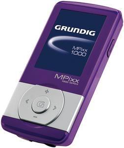 Grundig Mpixx 1200 2GB pink/chrom USB2.0, 4.5cm Farb LCD 128x160, (Art.-Nr. 90351125) - Bild #1