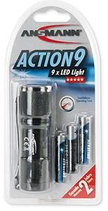 Ansmann Action 9 LED Taschenlampe (item no. 90356343) - Picture #4