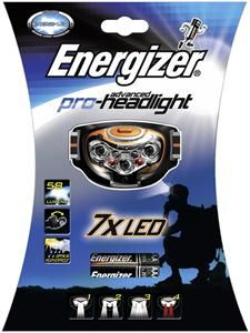 Energizer Advanced Pro-Headlight 7 LED Stirnlampe, (Article no. 90356368) - Picture #1