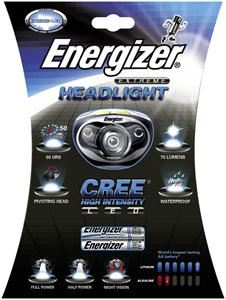 Energizer Extreme Headlight Cree LED Stirnlampe,  80 Lumen, (Article no. 90356369) - Picture #1
