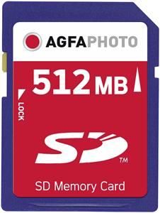AgfaPhoto SD Karte 512MB (Article no. 90357842) - Picture #1