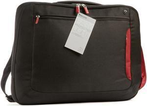 Belkin Kuriertasche schwarz/weinrot für Notebooks bis 39.6cm (15.6