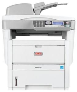 OKI MB470 A4 Laserdrucker/Scanner/Kopierer/Fax, (Article no. 90363679) - Picture #1