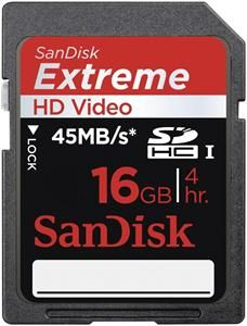 SanDisk Extreme SDHC UHS-I Karte SDSDX-016G-X46 16GB (Article no. 90372519) - Picture #1