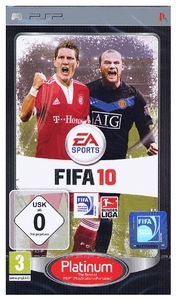 Fifa 10 Platinum Sony PSP, Deutsche Version (Article no. 90373986) - Picture #1
