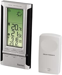Hama EWS-280 Elektronische Wetterstation schwarz (item no. 90376130) - Picture #1