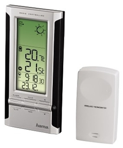 Hama EWS-280 Elektronische Wetterstation schwarz (item no. 90376130) - Picture #2