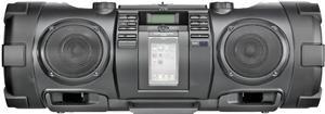 JVC RV-NB52 Boomblaster black 10 Watt, 30 Watt Subwoofer, Audio-CD, (Article no. 90377075) - Picture #4