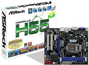 ASRock H55M-LE Sockel 1156 mATX H55, 2x DDR3, PCIe 2.0 (x16), (Article no. 90378086) - Picture #4