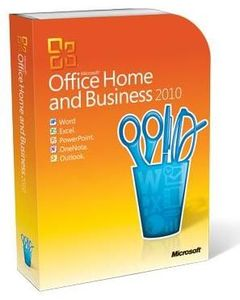 Microsoft Office 2010 Home & Business 32/64bit, deutsch, DVD, inklusive (Article no. 90378519) - Picture #1