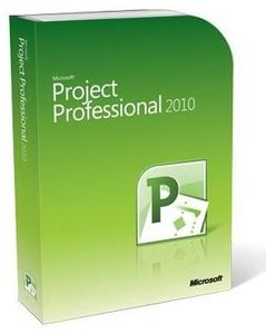Microsoft Project 2010 Professional 32/64bit, German, Box, DVD (Article no. 90378877) - Picture #1