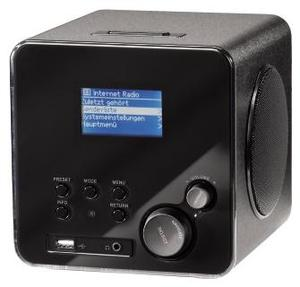 Hama Wireless IR100 Internet-Radio black (item no. 90380229) - Picture #1