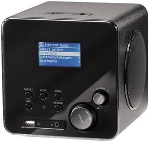 Hama Wireless IR100 Internet-Radio black (Article no. 90380229) - Picture #1