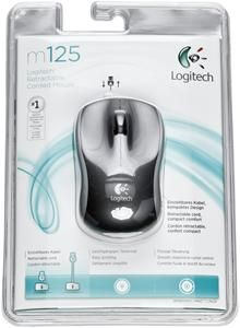 Logitech M125 Corded Maus silber (item no. 90382343) - Picture #2