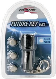 Ansmann Future Key One Taschenlampe schwarz,  Aluminium, (Article no. 90382547) - Picture #1