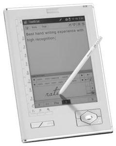 Hanvon WISEreader N518 weiss 12.7cm, EPUB, Stift, integrierte (Art.-Nr. 90383814) - Bild #1