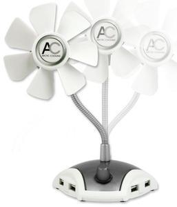 Arctic Breeze Pro USB Tischventilator mit flexiblem Hals (Article no. 90384318) - Picture #5
