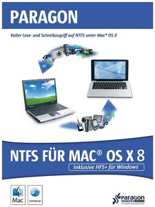 Paragon NTFS für Mac OS X 8.0 (item no. 90385170) - Picture #1