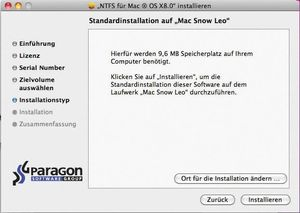 Paragon NTFS für Mac OS X 8.0 (item no. 90385170) - Picture #3