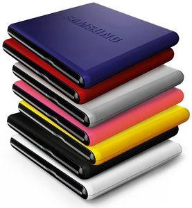 Samsung SE-S084D Slim blau USB2.0, DVD+/-R 8X, DVD+/-RW 8X6X, (Art.-Nr. 90385376) - Bild #1