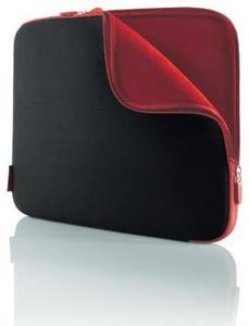 Belkin Schutzhülle schwarz/rot für Notebooks bis 39.6cm/15.6