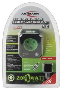 Ansmann AES2 Infrarot Steckdose with ZeroWatt Technologie (Article no. 90387775) - Picture #4
