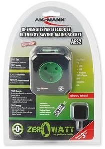 Ansmann AES2 Infrarot Steckdose with ZeroWatt Technologie (Article no. 90387775) - Picture #3