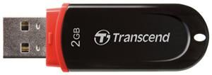 Transcend JetFlash 300 2GB rot (Article no. 90387906) - Picture #4
