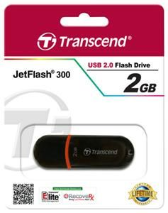 Transcend JetFlash 300 2GB rot (Article no. 90387906) - Picture #2