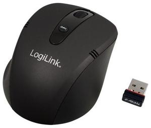 LogiLink Wireless Optical Maus schwarz (Article no. 90389038) - Picture #1