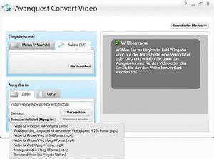 Avanquest Video Converter Deutsche Version (Art.-Nr. 90390634) - Bild #2