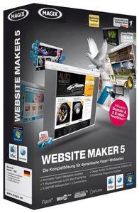 Magix Website Maker 5 (PC/MAC) (Article no. 90391507) - Picture #1