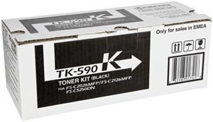 Kyocera TK-590K Toner Schwarz (Article no. 90392494) - Picture #2
