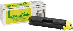 Kyocera TK-590Y Toner Gelb (Article no. 90392495) - Picture #1