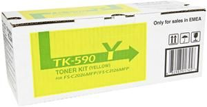 Kyocera TK-590Y Toner Gelb (Article no. 90392495) - Picture #3