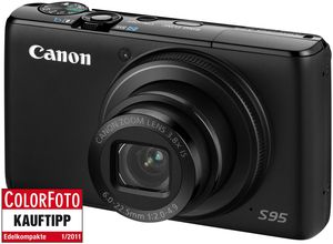 Canon PowerShot S95 schwarz (Article no. 90393369) - Picture #2