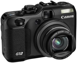 Canon PowerShot G12 schwarz (Article no. 90393849) - Picture #1