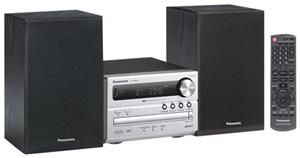 Panasonic SC-PM02 Micro System silber 2x 5 Watt RMS, Bassreflex, CD-RW, MP3, (Article no. 90393956) - Picture #4